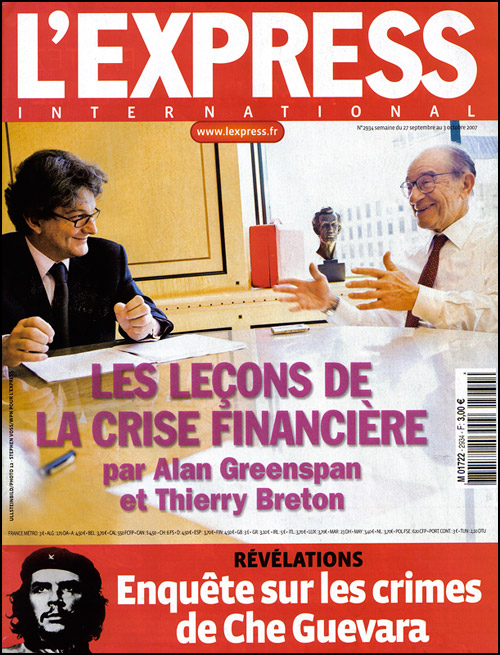 Alan Greenspan L'Express