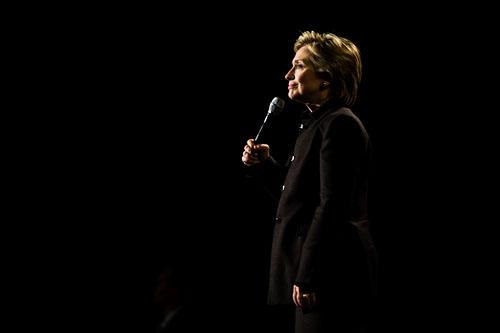 Clinton on black