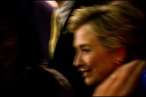 Hillary Clinton blur