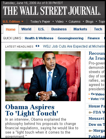 obama wall street journal