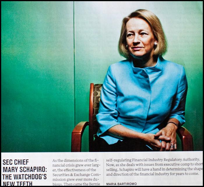 Mary Schapiro SEC