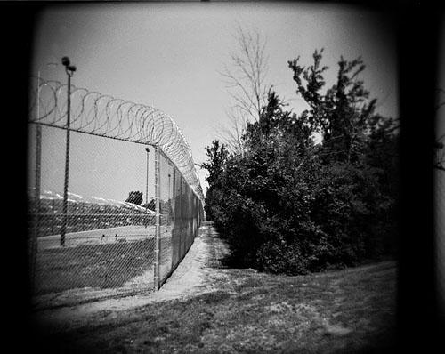 Detroit Prison Holga