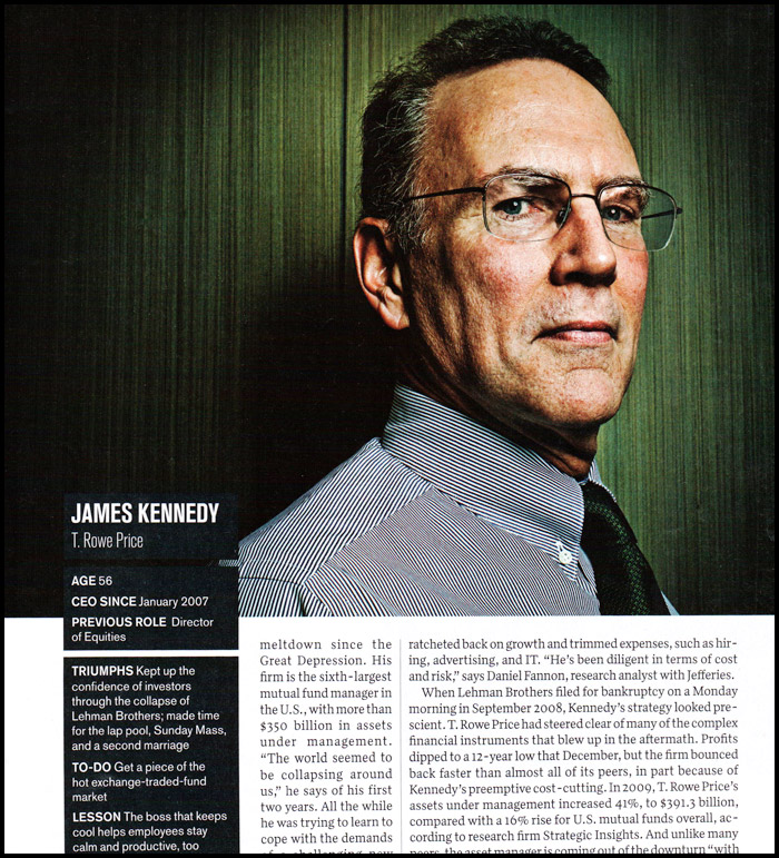 james kennedy t rowe price